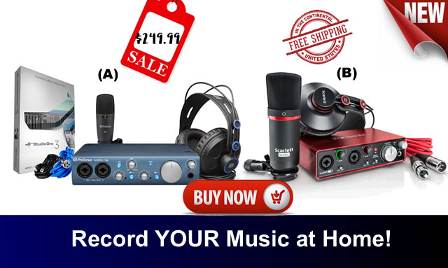 Buy A Home Recording Studio