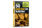 Guitar Lab 50 Acoustic Guitar Licks You Must Know DVD