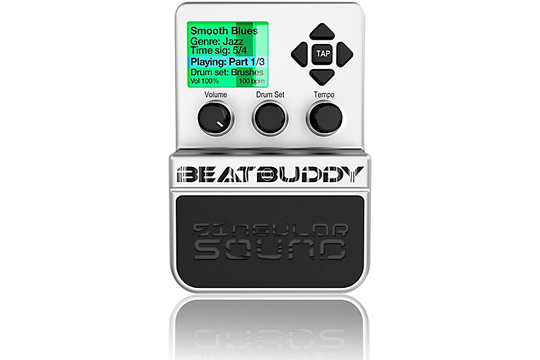 Singular Sound BeatBuddy Drum Machine Guitar Effects Pedal