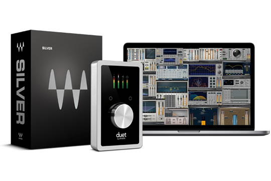 Apogee DUET with Waves Silver Plugin Audio Interface Bundle
