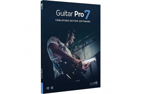 Arobas Guitar Pro 7 Tablature Notation Software