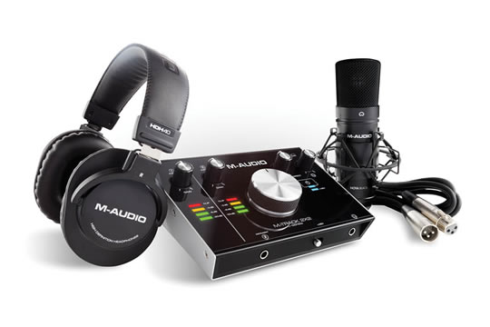 M-Audio M-Track 2x2 Vocal Studio PRO Recording Studio Bundle