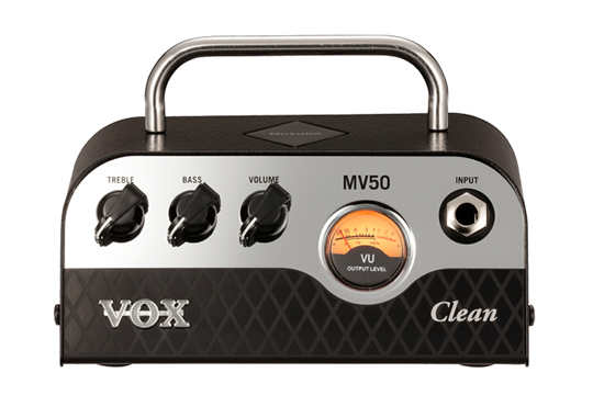 VOX MV50 Clean Mini 50W Guitar Amplifier Head