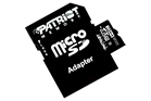 Patriot PSF32GMCSDHC10 Micro SDHC Card with Adapter 32GB