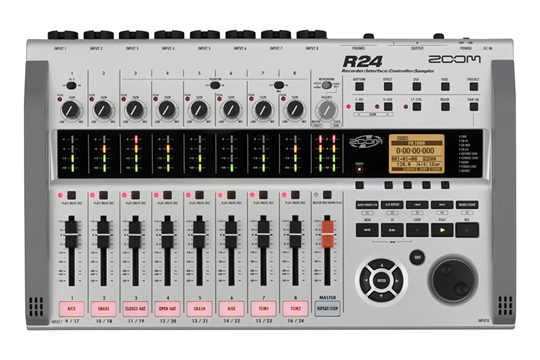 Zoom R24 All-In-One Digital Recorder Interface Controller