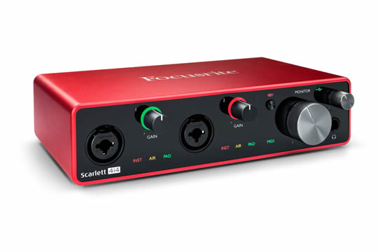 Focusrite Scarlett 4i4 3G USB Audio Interface
