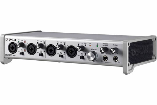 TASCAM SERIES 208i 20x8 USB 2.0 Audio/MIDI Interface